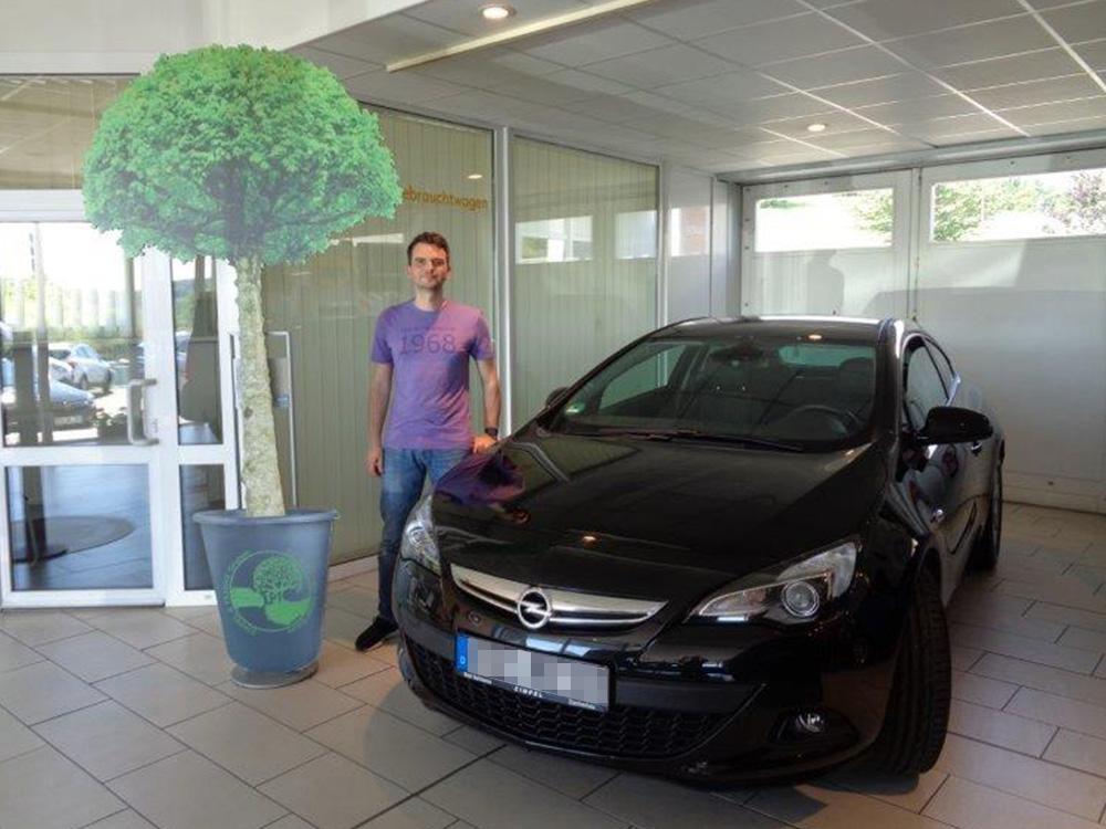Ein Auto - ein neuer Baum #machenstattmeckern 0093