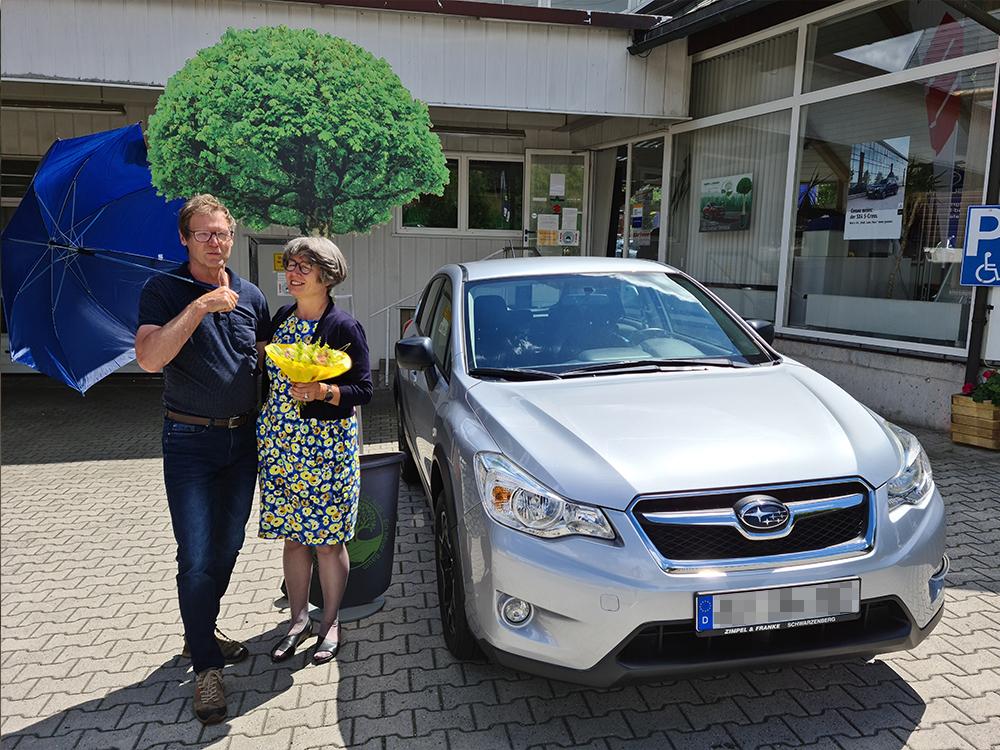Ein Auto - ein neuer Baum #machenstattmeckern 0105