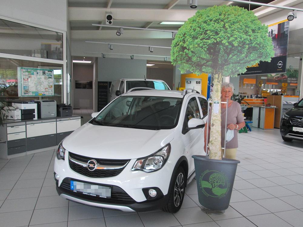 Ein Auto - ein neuer Baum #machenstattmeckern 0116