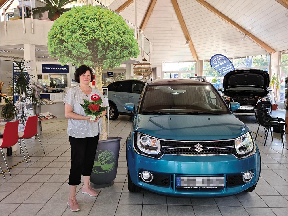 Ein Auto - ein neuer Baum #machenstattmeckern 0119