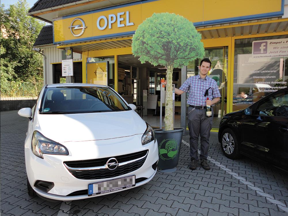 Ein Auto - ein neuer Baum #machenstattmeckern 0127
