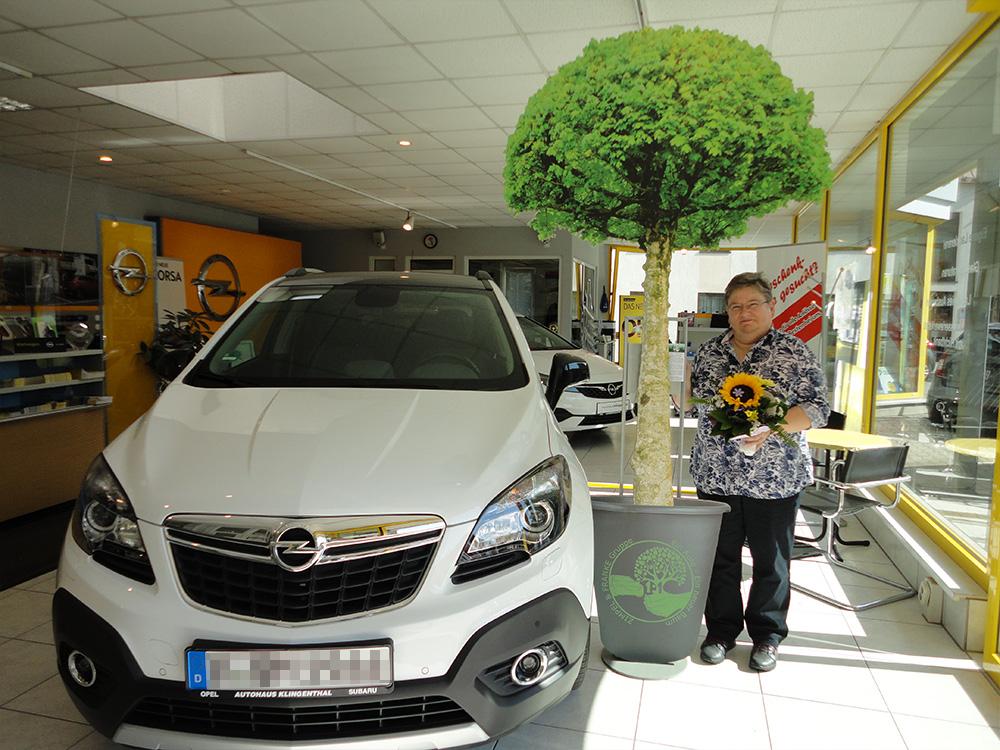 Ein Auto - ein neuer Baum #machenstattmeckern 0138