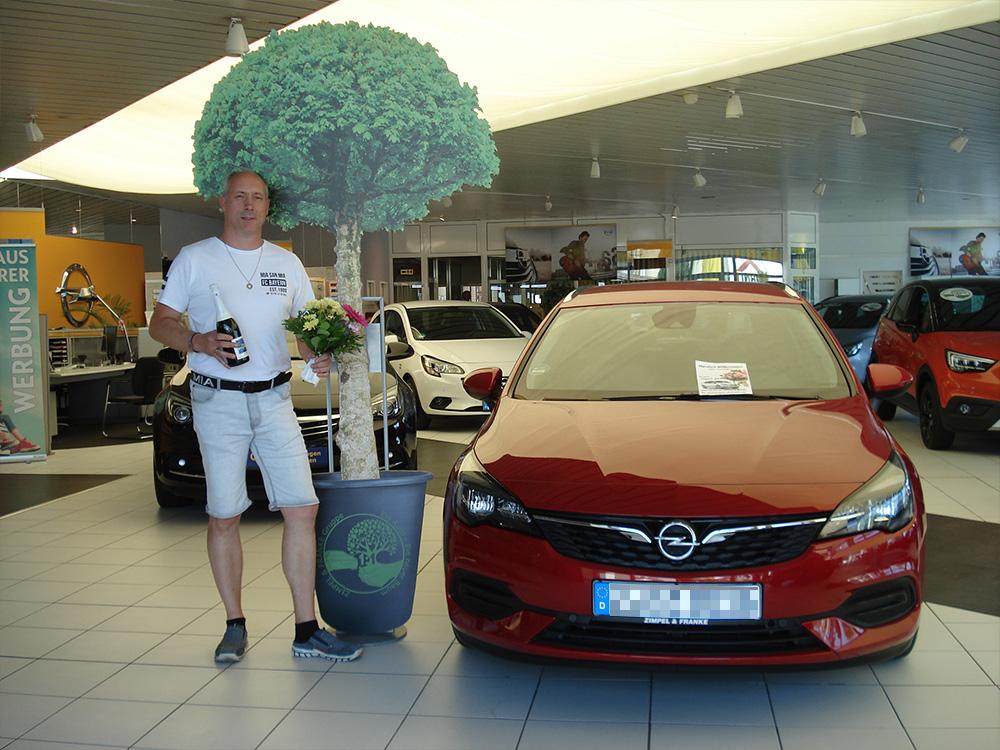 Ein Auto - ein neuer Baum #machenstattmeckern 0163