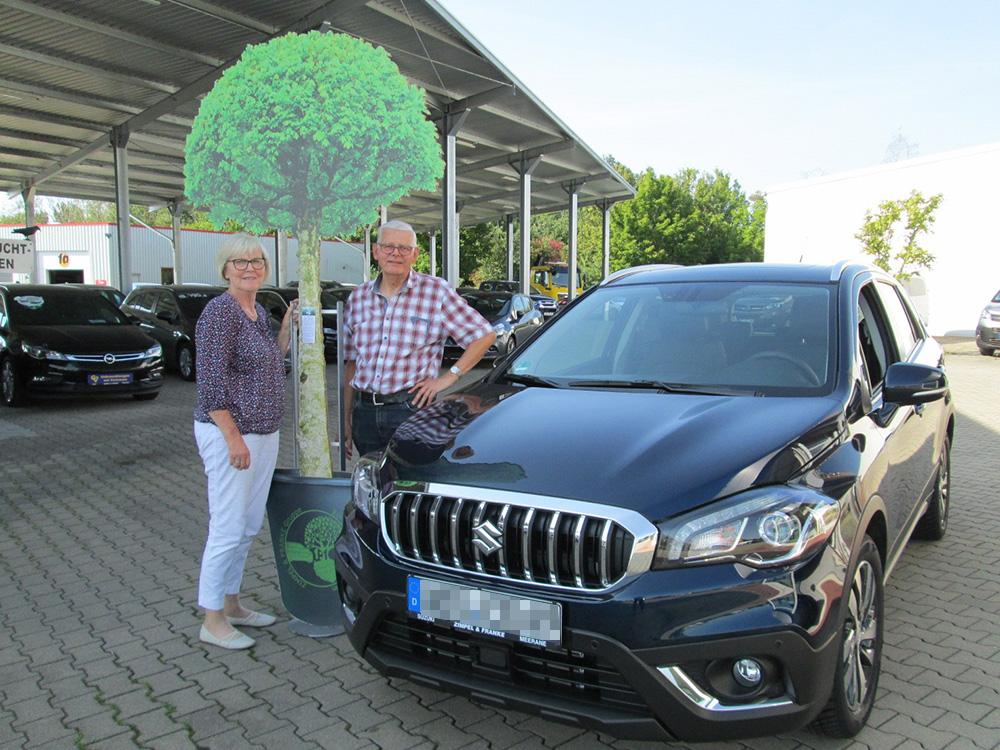 Ein Auto - ein neuer Baum #machenstattmeckern 0187