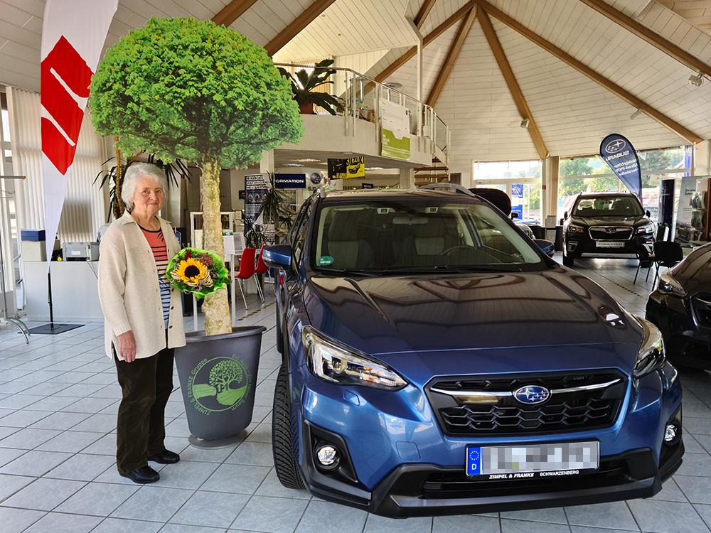 Ein Auto - ein neuer Baum #machenstattmeckern 0193