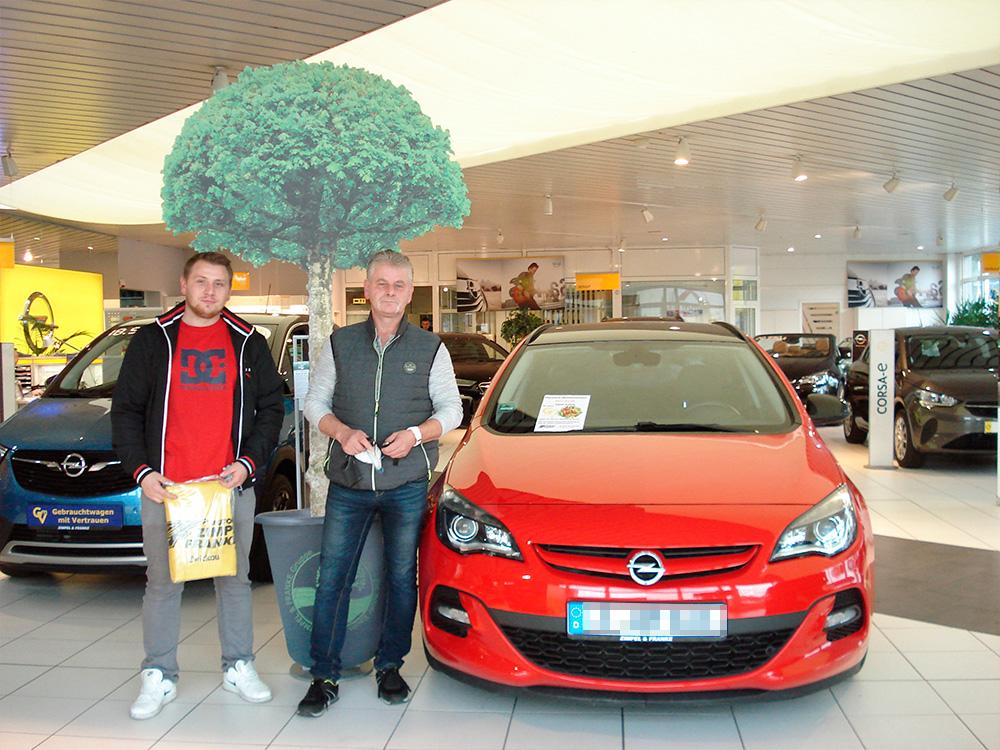 Ein Auto - ein neuer Baum #machenstattmeckern 0212