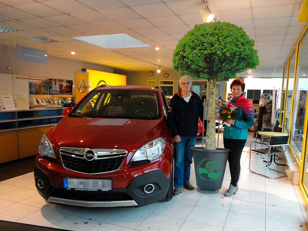 Ein Auto - ein neuer Baum #machenstattmeckern 0219