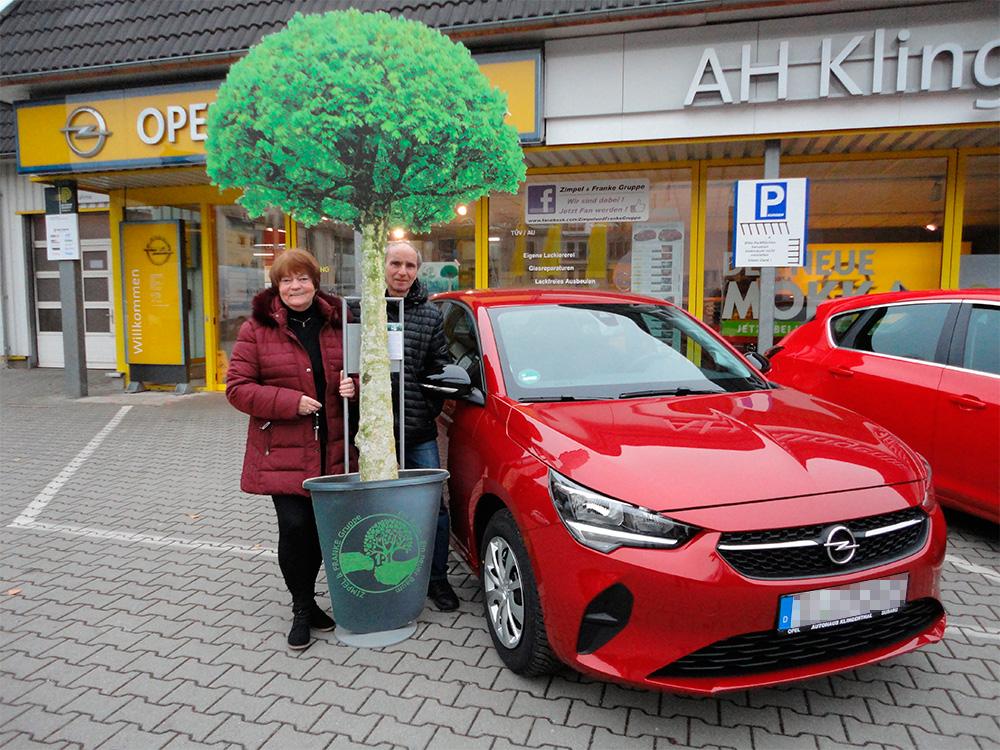 Ein Auto - ein neuer Baum #machenstattmeckern 0232