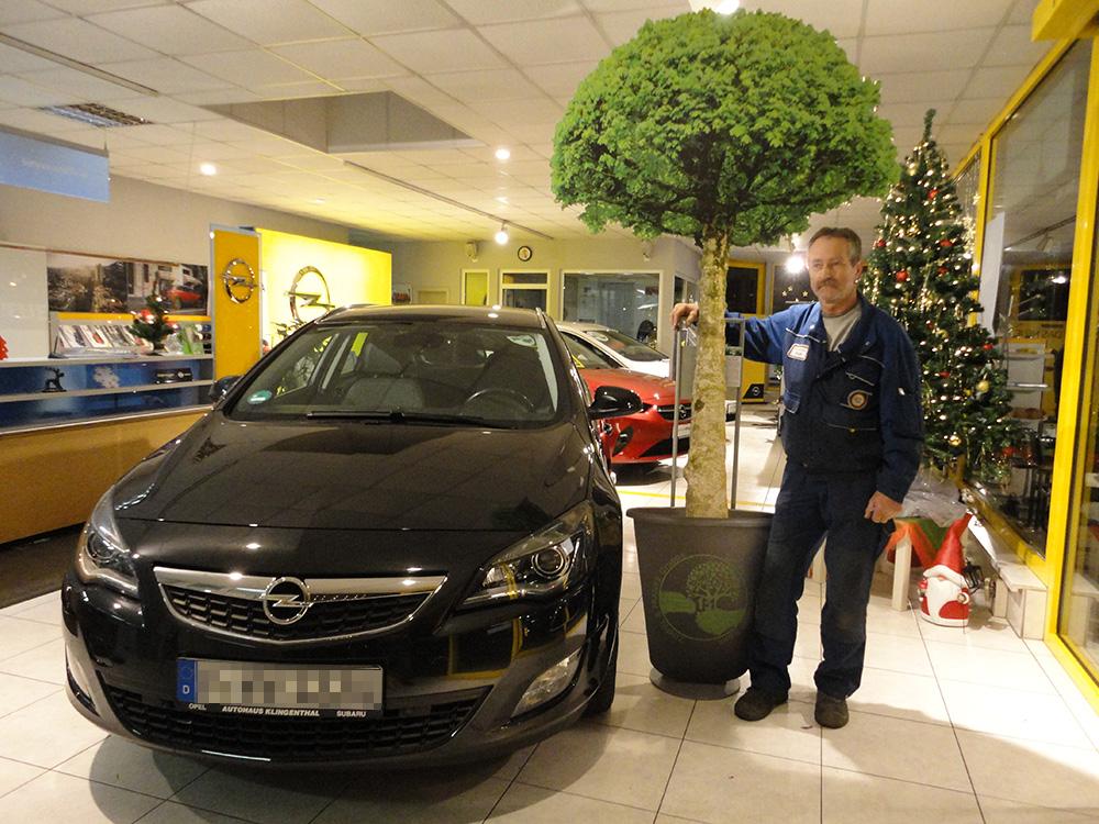 Ein Auto - ein neuer Baum #machenstattmeckern 0243