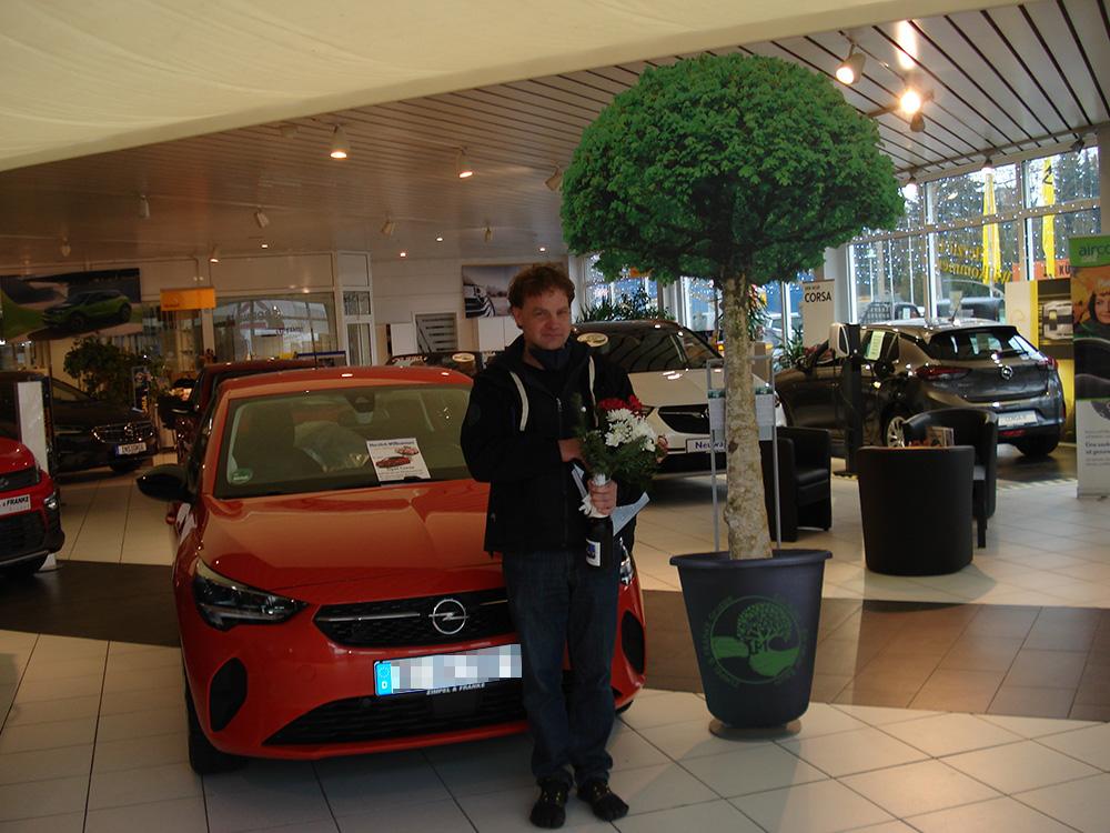 Ein Auto - ein neuer Baum #machenstattmeckern 0251