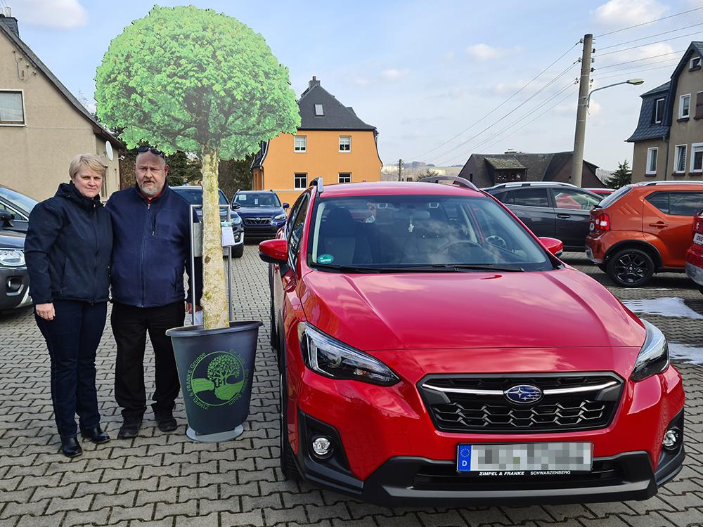 Ein Auto - ein neuer Baum #machenstattmeckern 0260