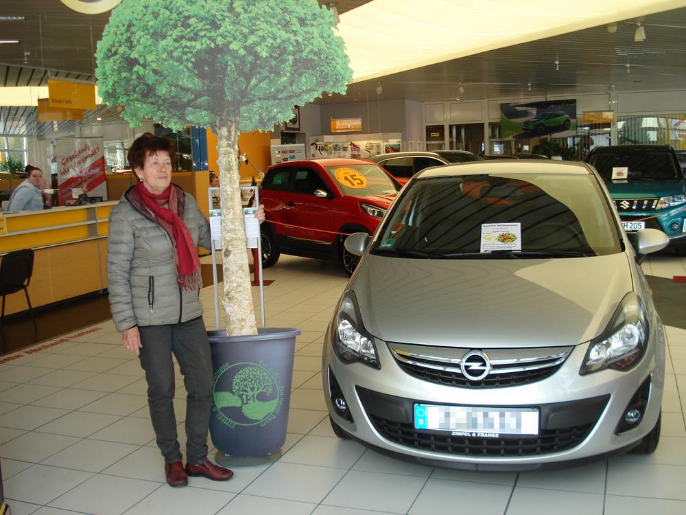 Ein Auto - ein neuer Baum #machenstattmeckern 0263