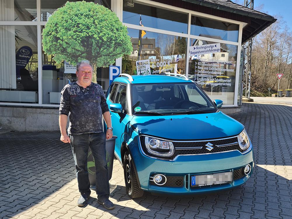 Ein Auto - ein neuer Baum #machenstattmeckern 0281