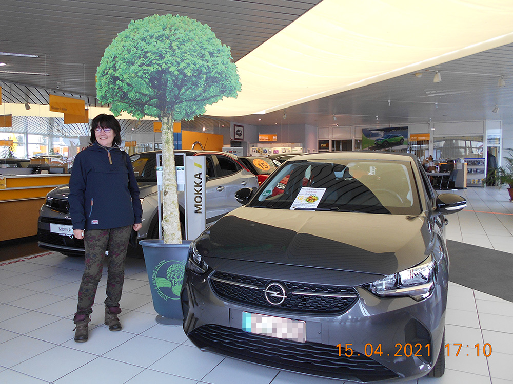 Ein Auto - ein neuer Baum #machenstattmeckern 0285