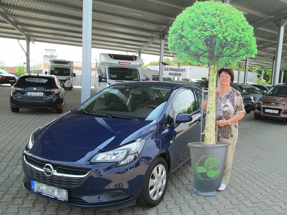Ein Auto - ein neuer Baum #machenstattmeckern 0301
