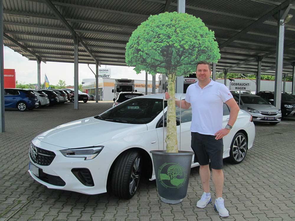 Ein Auto - ein neuer Baum #machenstattmeckern 0302