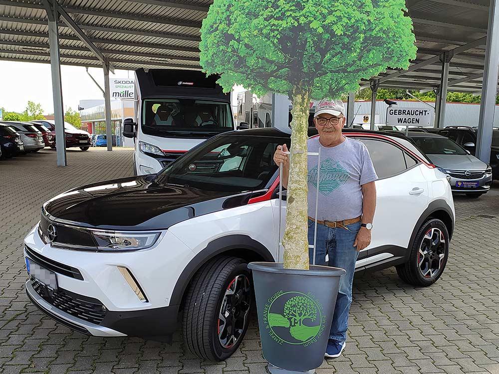 Ein Auto - ein neuer Baum #machenstattmeckern 0303