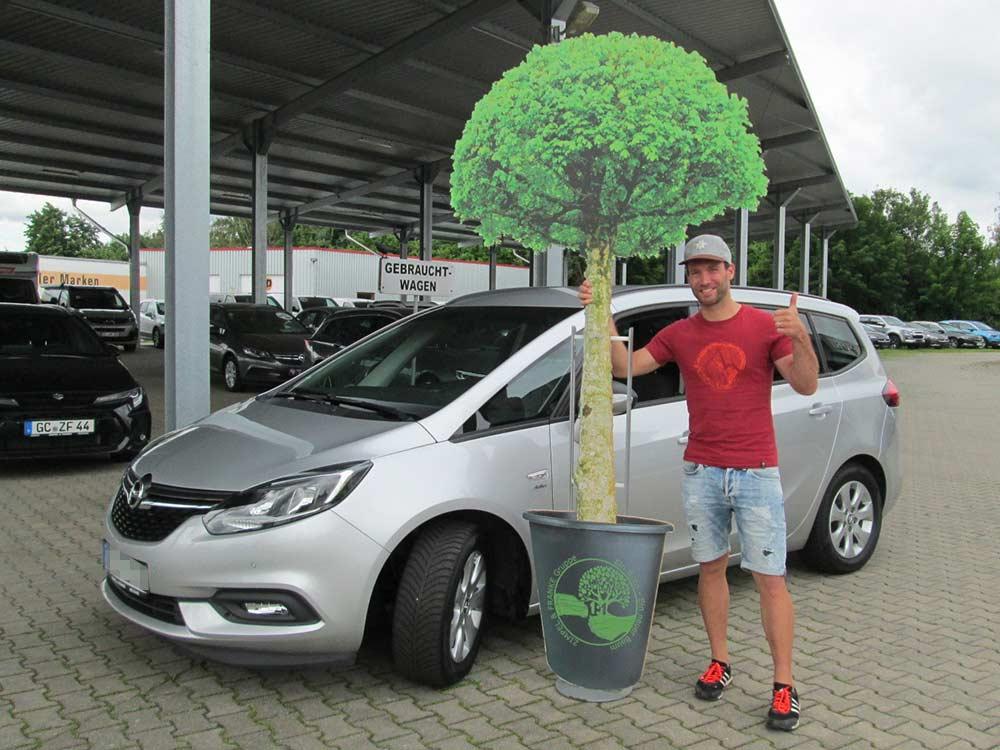 Ein Auto - ein neuer Baum #machenstattmeckern 0308