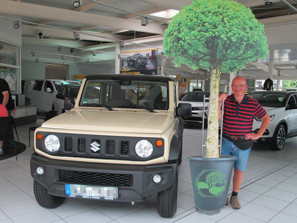 Ein Auto - ein neuer Baum #machenstattmeckern 0310