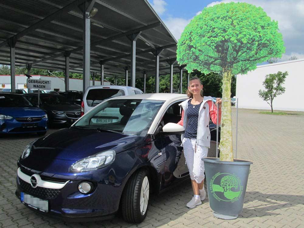 Ein Auto - ein neuer Baum #machenstattmeckern 0319