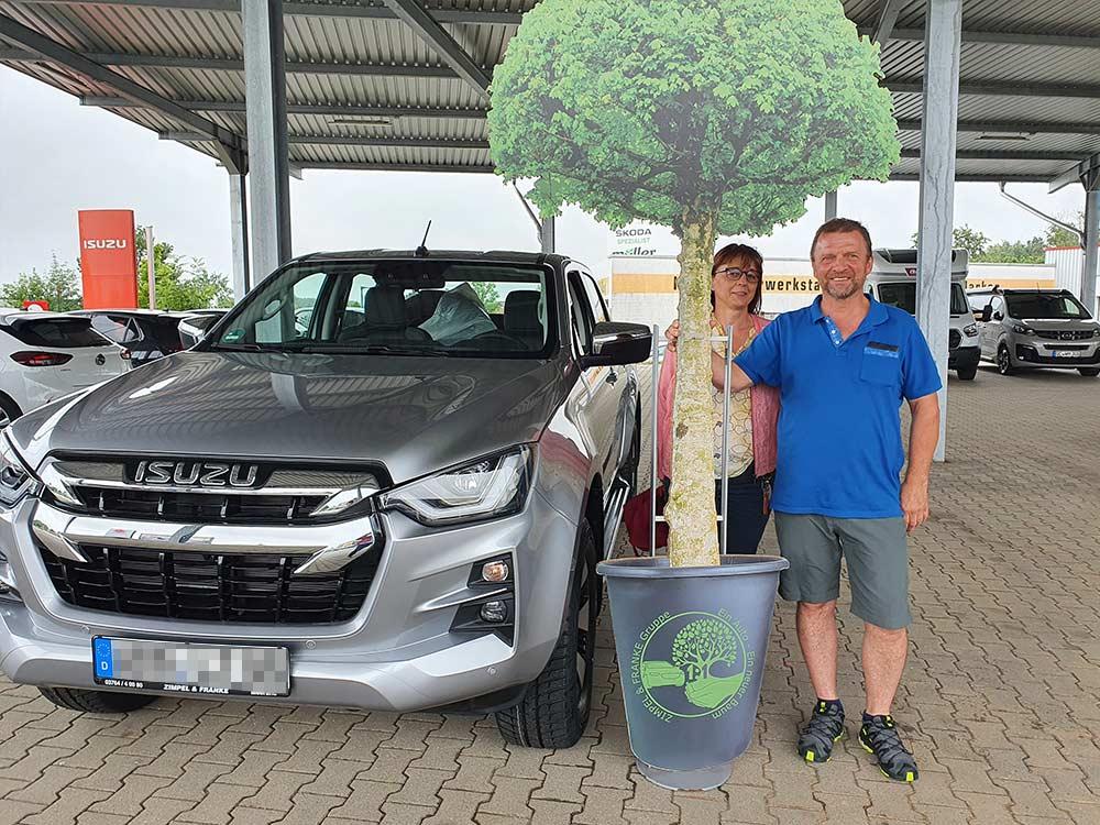 Ein Auto - ein neuer Baum #machenstattmeckern 0323