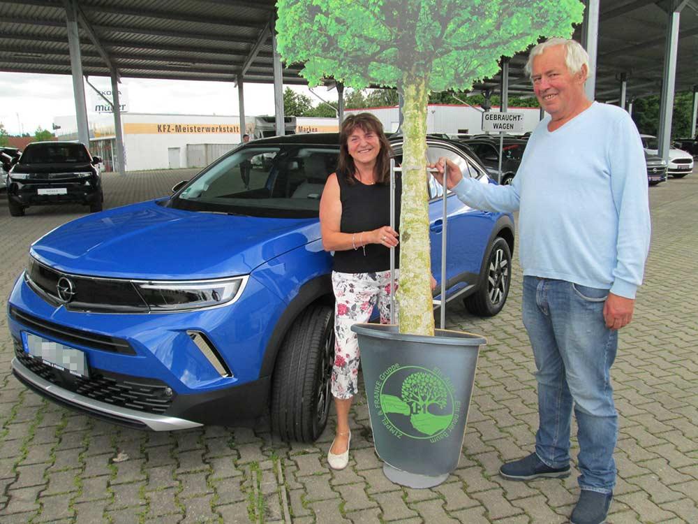 Ein Auto - ein neuer Baum #machenstattmeckern 0327