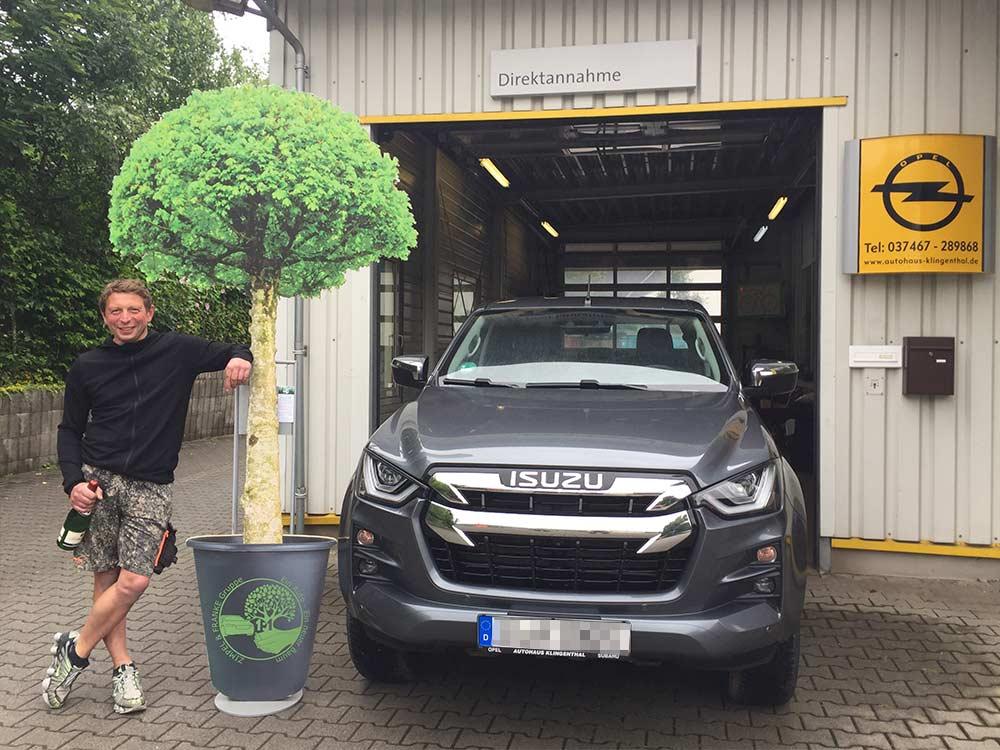 Ein Auto - ein neuer Baum #machenstattmeckern 0332
