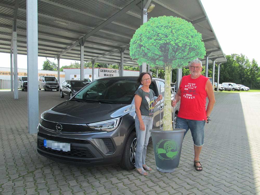 Ein Auto - ein neuer Baum #machenstattmeckern 0344