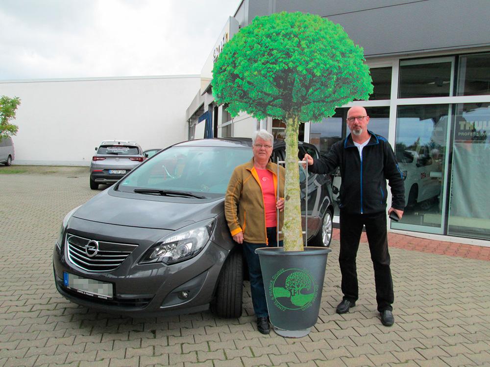 Ein Auto - ein neuer Baum #machenstattmeckern 0377
