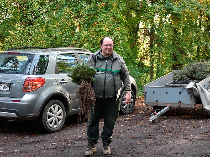 Ein Auto - ein neuer Baum #machenstattmeckern 0016