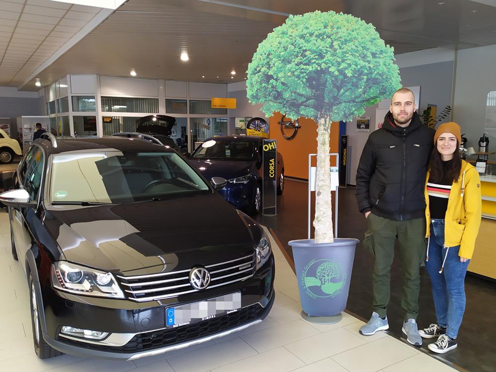 Ein Auto - ein neuer Baum #machenstattmeckern 0051