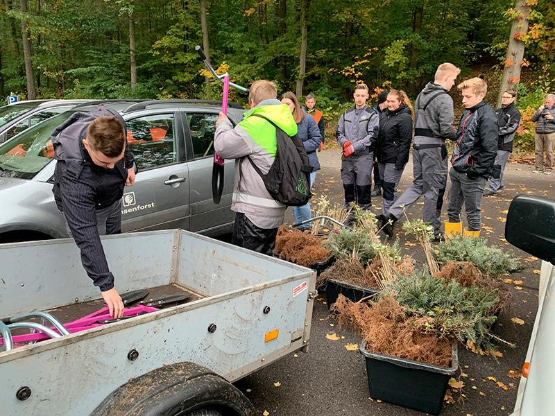 Ein Auto - ein neuer Baum #machenstattmeckern 0034