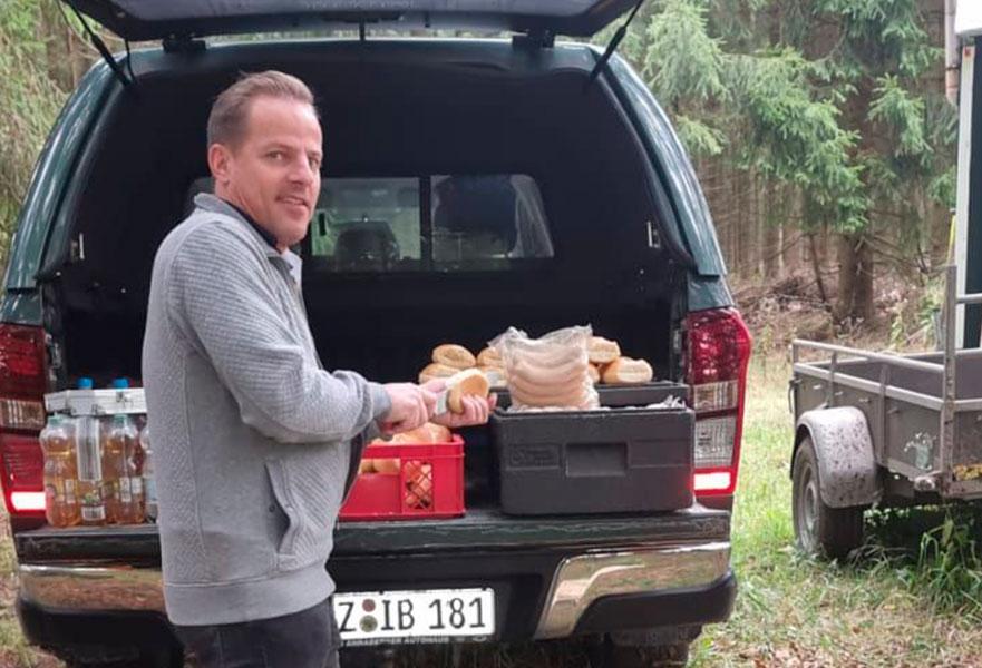 Ein Auto - ein neuer Baum #machenstattmeckern Jens