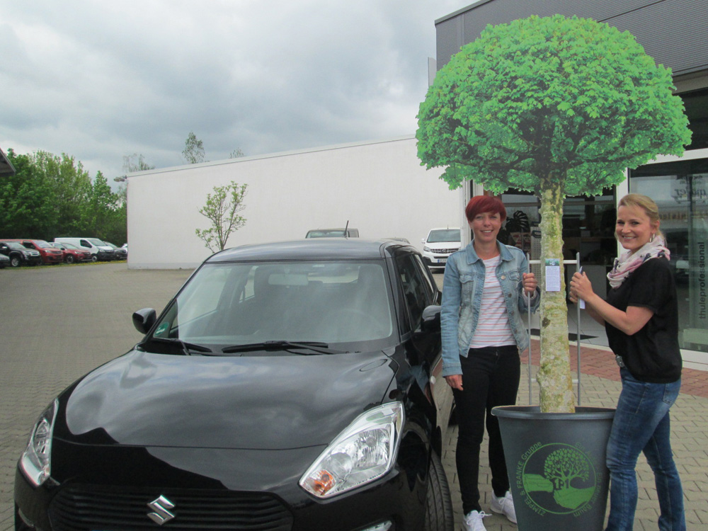Ein Auto - ein neuer Baum #machenstattmeckern 0037