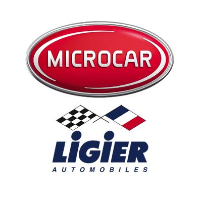 Logo Microcar und Ligier