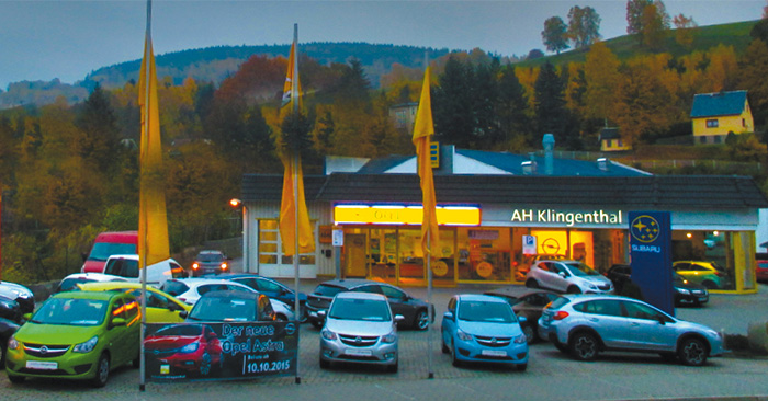 Opel Autohaus ZIMPEL & FRANKE in Klingenthal