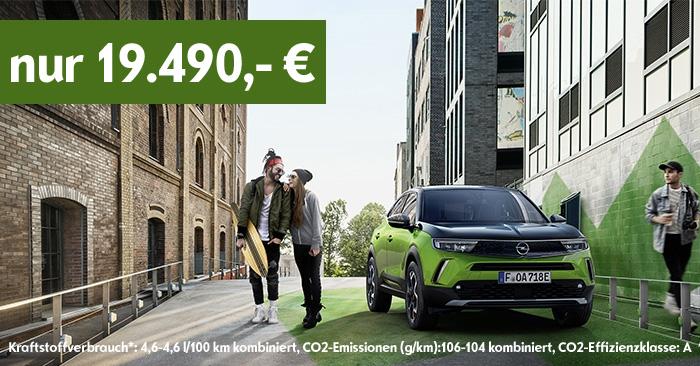 Der neue Opel Mokka - Unser Angebot mit dem neuen MarkengesichtOpel Vizor