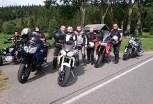 Die Biker der diesjährigen Tour