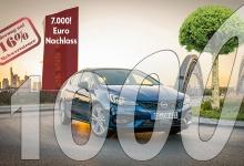 1000! Ein Auto - ein neuer Baum!
