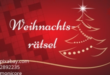 Weihnachtsrätsel