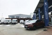 Im Focus stand natürlich die gesamte Peugeot- Nutzfahrzeug-Palette.